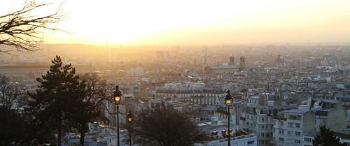 Paris am Morgen des 31.Dezember 2011