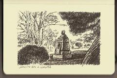 Molesk_Jardin en A Corua (Jose Antonio Martinez) Tags: design drawing paisaje dibujo boceto acorua cantones