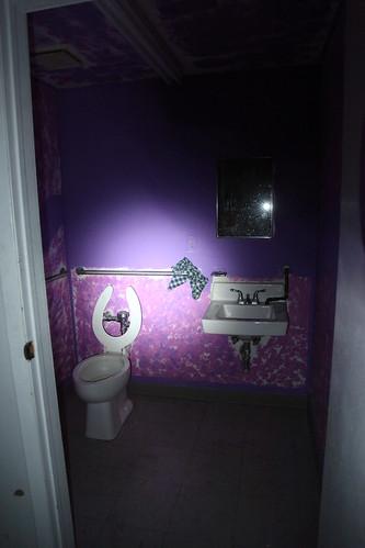 Purple Bathroom in G+G's