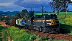 Melbourne Vic to Adelaide SA Freight at Bacchus Marsh Victoria (Rodney S300) Tags: bacchusmarsh c510