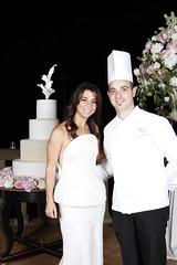 Mario Ragona con Ileana (sorella dello stilista Mariotto. Dir. Creativo della Maison Gattinoni)