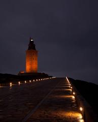 La torre (carlos corua) Tags: faro nocturna acorua lacorua torredehercules