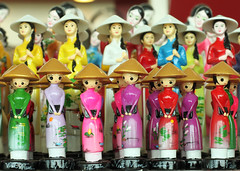 Gifts from Vietnam (amasc) Tags: deleteme5 deleteme8 deleteme deleteme2 deleteme3 deleteme4 deleteme6 deleteme9 deleteme7 canon shopping 50mm colorful dolls deleteme10 models kitsch vietnam gifts ornaments colourful momentos aodai nonla souvinirs