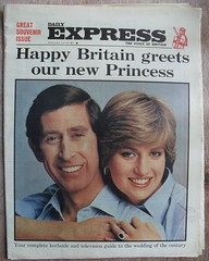 DAILY EXPRESS (old school paul) Tags: vintage newspapers 1981 frontpage dailyexpress charlesdiana