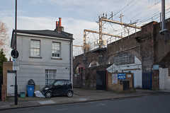 Torbay Street (Gary Kinsman) Tags: house london architecture mess alone quiet silent camden empty nowhere victorian noone arches backstreet nothing empy desolate railwayline camdentown nomansland urbanlandscape anywhere nw1 unplace 2011 topographics northlondonline canon28mmf18 newtopographics canoneos5dmarkii canon5dmkii torbaystreet