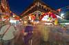 Singapore Chinatown - Chinese New year Crowd