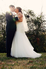 Stealing a kiss.... (Mindubonline) Tags: wedding church cake groom bride tn nashville tennessee ceremony marriage reception bouquet nuptials mindub mindubonline timhiber