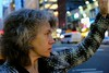 (sophieococonut) Tags: new york city nyc woman ny streets face car hand cab taxi profile hailing