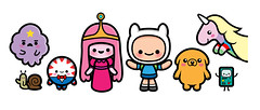 Adventure Time (Jerrod Maruyama) Tags: jake kawaii finn bemo cartoonnetwork lsp adventuretime ladyrainicorn bubblegumprincess peppermintbutler wavingsnail