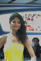 Model at Auto Expo 2012 (Tarun Chopra) Tags: india gurgaon bharat hindusthan canon7d autoexpo2012