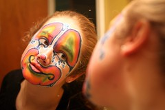 Clown (Shezamm) Tags: facepainting clown stagemakeup clownmakeup