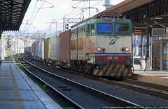 E655 532 (Raffaele Russo (LeleD445)) Tags: cargo container tcs treno speciale caimano e655