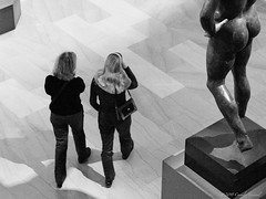 Averting.... (CVerwaal) Tags: nyc newyorkcity ladies newyork art pen women roman olympus om zuiko metropolitanmuseumofart malenude ancientart olympusep2