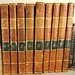 195. 10 Antique Leatherbound Books