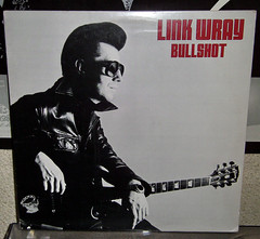Link Wray - Bullshot (renerox) Tags: records rock garage vinyl lp 70s rockabilly instrumental lps garagerock lpcover linkwray