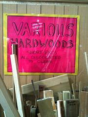 Hardwoods, various (mrahayes) Tags: hardwood iphone