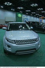 2011-12-29 Indy Auto Show 2012 2701 Land Rover vehicles at the auto show - cars, trucks and  SUVs on display