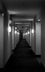Hallway (Michael Whyte) Tags: seattle usa canada architecture washington
