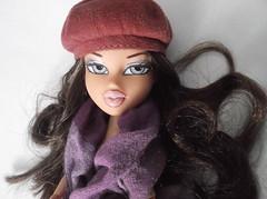 Kara w/ curled hair (LightBox29) Tags: beauty model pretty models sharp jewlery brats bratz defined bratzdolls bratzgirls qualilty bratzmodels modeldolls