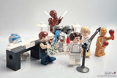 The millenium falcon band (storm TK431) Tags: starwars lego drum luke band r2d2 leia c3po hansolo milleniumfalcon