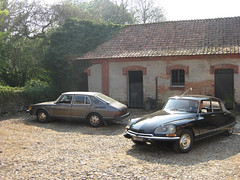 900~DS (poetry from heartbeat) Tags: france car sweden citroen ds voiture bil 1970 1980 saab 900 gle