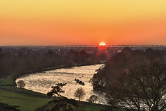London 2012  February 1st (violinconcertono3) Tags: sunset london water thames river landscapes unitedkingdom fineart richmond fineartphotography london2012 londonist fineartphotographer londonphotographer 19sixty3