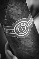IMG_4139-Edit (aizuddindanian) Tags: portrait bw macro canon cuba cigar 100mm cuban montecristo 2011 aizuddin cigarporn danian 5dii