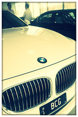 D-Day (Patricia Woods) Tags: car automobile fuji bmw 7series day216 x100 730d 216365 photowizard motorline
