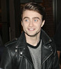 Daniel Radcliffe interviewed on the celebrity news programme 'Extra' at The Grove in Hollywood. Los Angeles, California