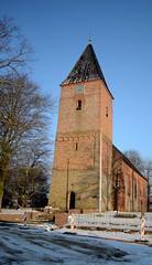 Church of siddeburen (sandresJ) Tags: snow church sneeuw groningen kerk siddeburen