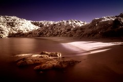 Last Light on Te Pukatea (McSnowHammer) Tags: new ir zealand infrared abel tasman