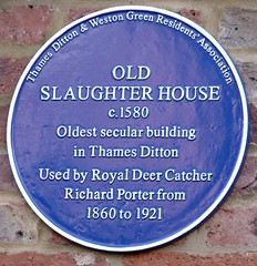 Photo of Richard Porter blue plaque
