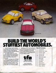 stuffed cars pattern 1977