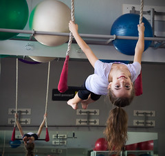 Youth Circus Camp Fall 2013 (Mary Adrenaline) Tags: portrait smile kids training student circus swing indoors littlegirl scottsdale inverted fitness gym trapeze skill classes kidscamp aerialdance circusschoolofarizona canont4i