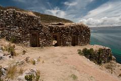 Ruins in Isla del Sol, Bolivia