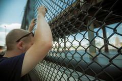Hudson Yards ( Nino) Tags: park street new york city nyc yards urban building film apple analog yard 35mm concrete graffiti big high state 10 manhattan web grain wide trains line empire rails depot hudson mm 35 layup backjump