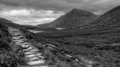 Mountain Path (Say It With A Camera) Tags: mountains photography digitalcamera snowdonia digitalphotography mirrorlesscamera mikehardistyphotography olympusomdem1 sayitwithacamera mikehardisty