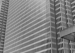 Grid OVERLOAD ... (sswj) Tags: sanfrancisco california leica blackandwhite bw northerncalifornia architecture downtown skyscrapers availablelight naturallight existinglight scottjohnson architecturedetail abstractreality dl4 dlux4