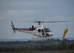 Helibras Esquilo II AS355N PP-ESS (Aeroporto de Montes Claros / Montes Claros Airport) Tags: helicopter ii esquilo helicoptero helibras areas as355n sbmk aeroportodemontesclaros aeroportomarioribeiro ppess