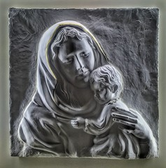 Mother and child icon (Pejasar) Tags: art child madonna mother icon tulsa christchild