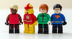 Lego DC - Young Justice (Mr_Red_2001) Tags: dc lego greenlantern superboy kidflash aqualad youngjustice