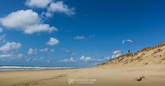 IMG_9142 (Laurent Merle) Tags: beach fly outdoor dune cte vol paragliding soaring ozone plage parapente atlantique ocan glisse littlecloud spiruline