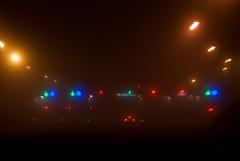 close encounters of the toll kind_ (obsidiana10) Tags: luz fog lights luces licht highway autopista toll autoroute niebla peaje encuentrosenlatercerafase