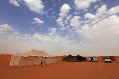 Camp in desert (TARIQ-M) Tags: camp sky cloud texture car landscape sand waves desert dunes tent riyadh saudiarabia canon400d canonef1635mmf28liiusm canoneos5dmarkiifullfram
