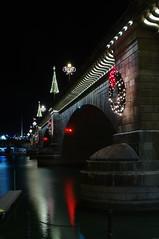 London Bridge at night (Bad X) Tags: christmas arizona londonbridge pentax k7 2011
