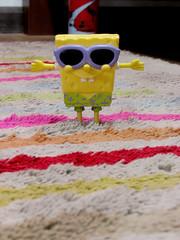 (Thais Galhardo) Tags: cute brinquedo amarelo esponja fofo miniatura bobesponge