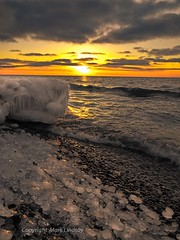 Icy Shores (Happyhiker4) Tags: coffeeonice sunsetonice iceddreams