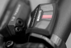 Top Gear BW - Kinda (musklick) Tags: macro bicycle nikon gear shimano d90 macromondays nikkor105mmf28gvrmicro michaellind musklick