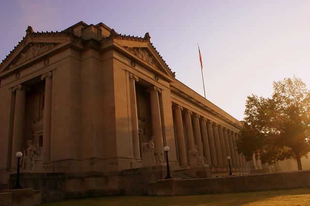 Shelby County Courthouse at Sunrise - Memphis, TN