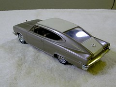 1966 American Motors Marlin Promo Model Car - Frost White over Samora Light Gold Metallic (coconv) Tags: auto door old light 2 two white classic cars hardtop scale car vintage gold promo model automobile frost antique metallic over 1966 66 motors plastic 124 american sample kit collectible amc rambler collectors promotional coupe dealership marlin johan mpc 125 amt fastback smp hubley samora revell banthrico